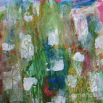 Happy Day - abstract painting by Vesna Antic by Vesna Antic