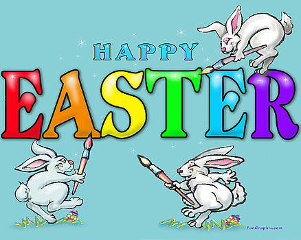 Happy Easter by Kevin Middleton