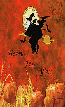 Happy Fall Y'all by Jennifer Stackpole