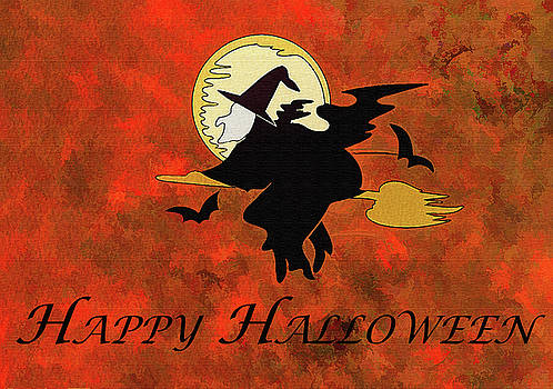 Happy Halloween Witch by Jennifer Stackpole