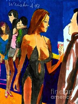 Happy Hour Slit Dress by Harry WEISBURD
