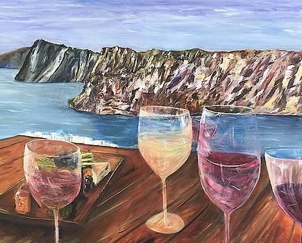 Happy Hours In Greece  by Chuck Gebhardt