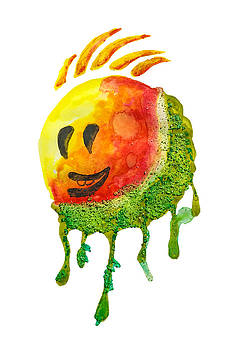 Happy Summer Face by Creatives Think