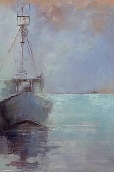 Harbor Series #4 by Judy Pfeifer