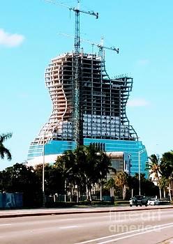 Hard Rock Hotel Going Up 01 by Chrisann Ellis