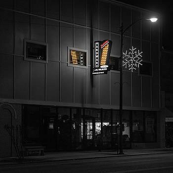 Sharon Popek - Hardware Sign at Night