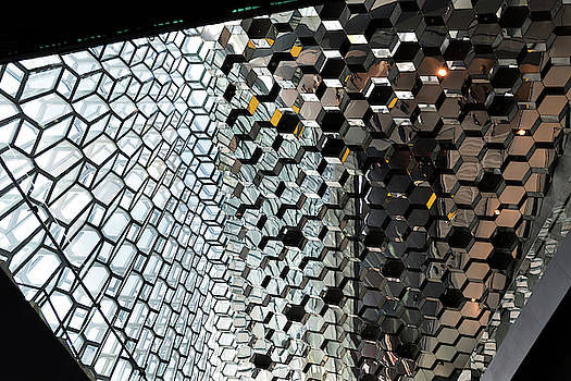 RicardMN Photography - Harpa Concert Hall Ceiling #3