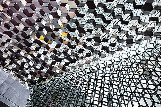 RicardMN Photography - Harpa Concert Hall Ceiling #7