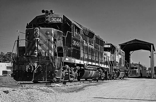 Hartwell Railroad 3044 B W by Joseph C Hinson Photography
