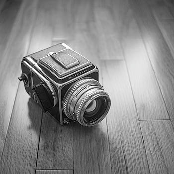 Hasselblad on the Floor by Giovanni Arroyo