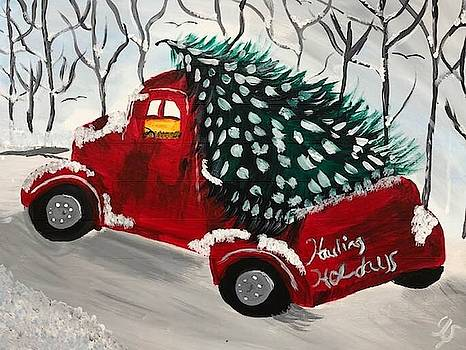 Hauling Holidays by Yvonne Sewell