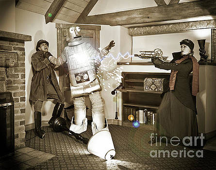 Sad Hill - Bizarre Los Angeles Archive - Haunted by History - Robot attack - Pierpont Inn
