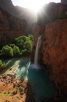 Havasu Falls, Havasupai by Noah Lang