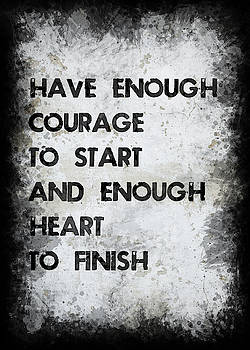 Have Enough Courage by Ricky Barnard