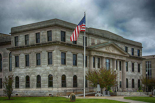 Haywood County Courthouse by Mitch Spence