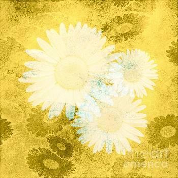 Hazey Daisies by Priscilla Wolfe