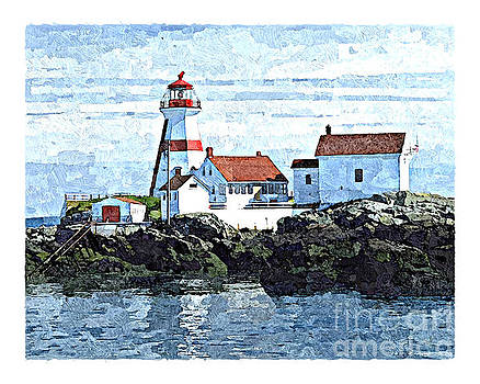 Art MacKay - Head Harbour Lighthouse, Campobello, NB