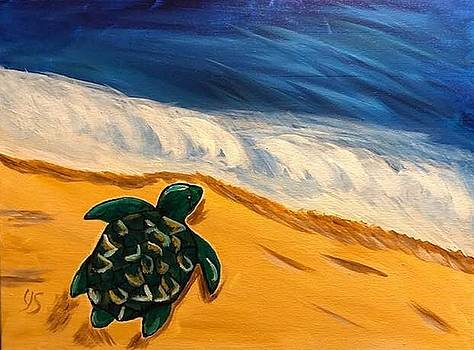 Headed to the Sea by Yvonne Sewell