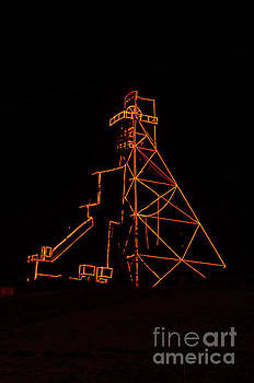 Headframe Lit for the Holidays by Sue Smith