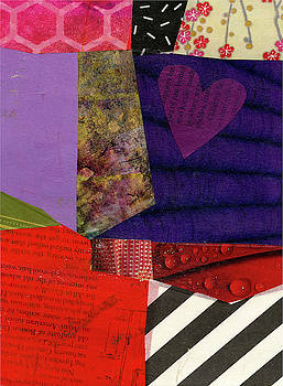 Heart Collage #2 by Jane Davies