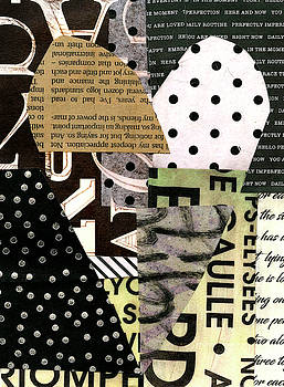 Heart Collage #3 by Jane Davies