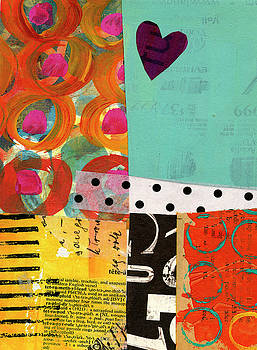 Heart Collage #4 by Jane Davies