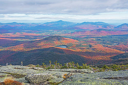Toby McGuire - Heart Lake and Whiteface Mountain as seen from the Summit of Wright Mountain Adirondacks