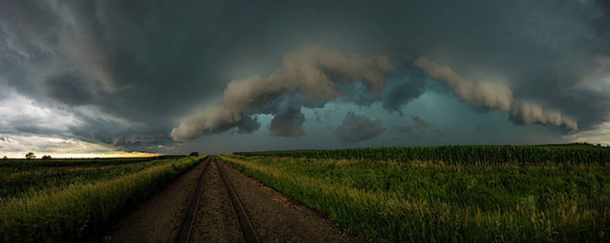 Heather's birthday storm by Aaron J Groen