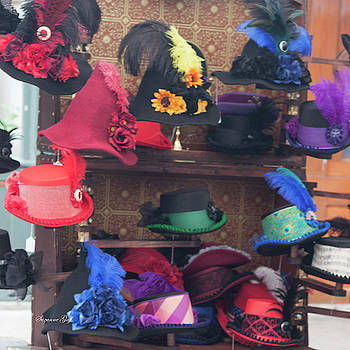 Heavenly Hats Squared by Suzanne Gaff