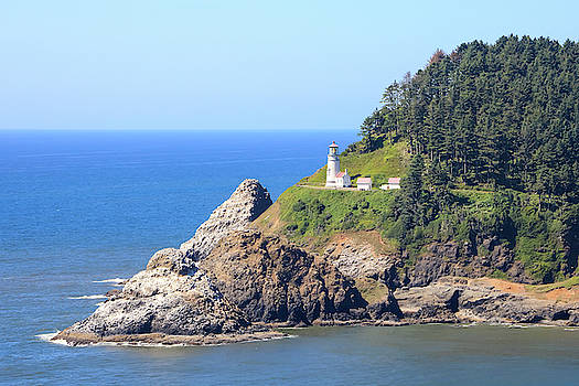 Helceta Head Lighthouse, Oregon by Dawn Richards