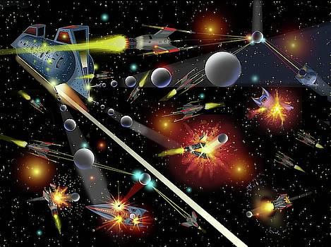 Hell in Space by Dumitru Sandru