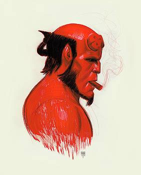 Hellboy by Alex Ruiz