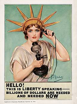 Hello This is Liberty speaking 1918 by Nikolaki
