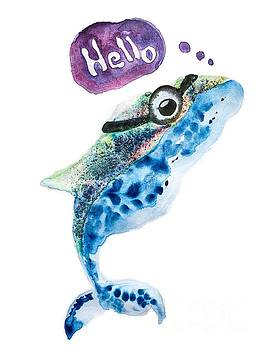 Hello whale by Creatives Think