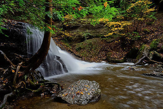 Hell's Hollow Falls by Michael Hills
