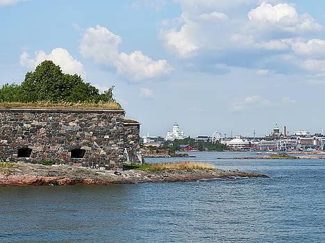 Helsinki from Suomenlinna by Jouko Lehto