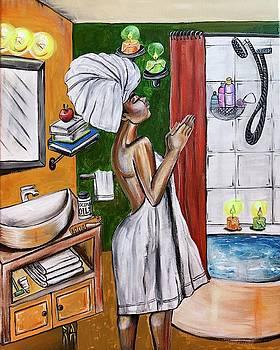 Her Prayer by Artist RiA