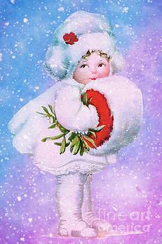 Her Warm Snow Muff by Tammera Malicki-Wong