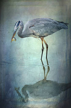 Rebecca Evans - Blue Heron 2