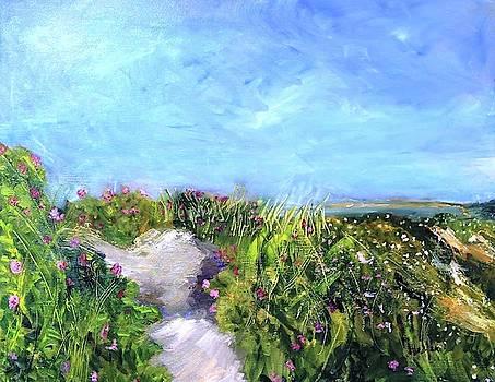 Herring Cove Flowering Dune by Michael Helfen