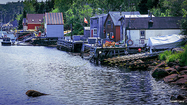 Herring Cove Nova Scotia 01 by Ken Morris