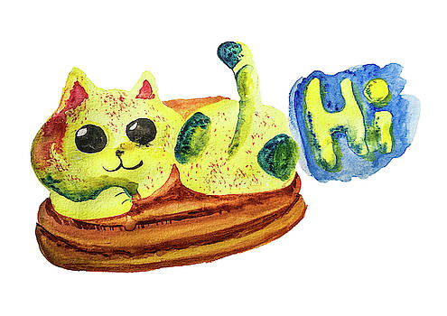 Hi cat by Creatives Think