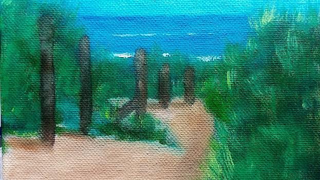 Hidden Beach by George Dalton