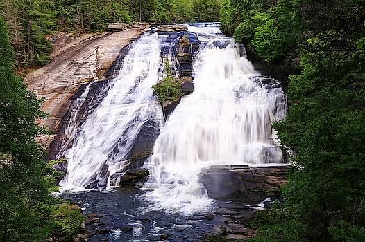 High Falls North Carolina by Carol Montoya