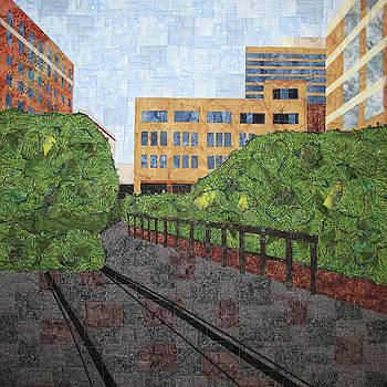 High Line in New York City by Pam Geisel