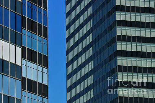 High Rise Abstract by Angela Stafford