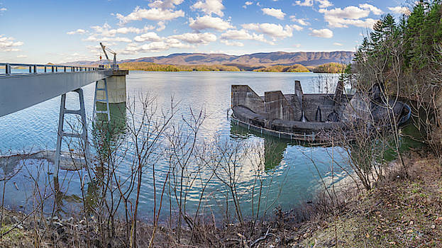 High Water at South Holston by Greg Booher
