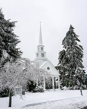 Highlands, NC United Methodist Church by Seth Solesbee
