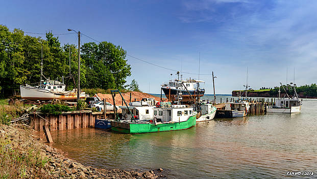 Hightide at Delhaven  by Ken Morris