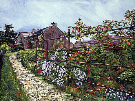 Hill Top, Beatrix Potter Country House by David Lloyd Glover